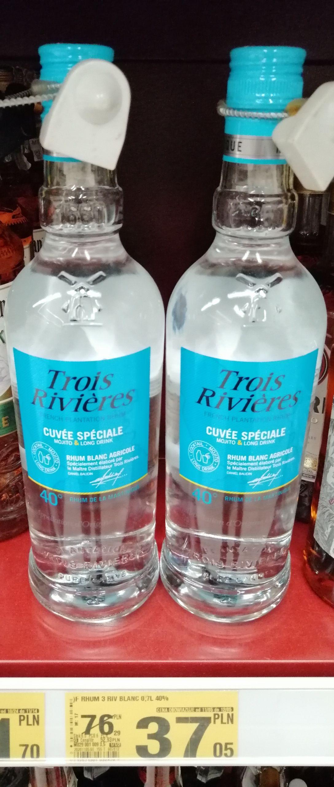 Rum Trois Rivieres Rhum Blanc - Auchan Zabrze Platan