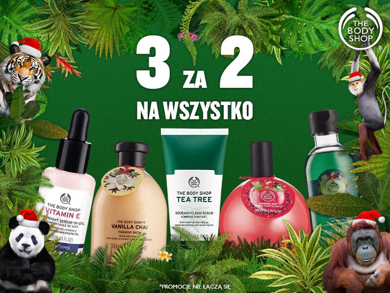 Trzy produkty w cenie dwóch @ The Body Shop