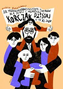 Festiwal Korczak Dzisiaj dla dzieci i młodzieży - darmowe spektakle teatralne online