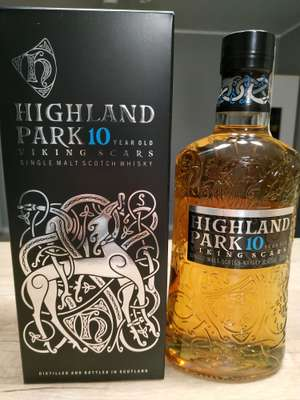 Whisky; HIGHLAND PARK VIKING SCARS 10 YO; 0,7L