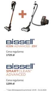 Odkurzacz pionowy bissell icon advanced 25V + bissell smartclean advanced