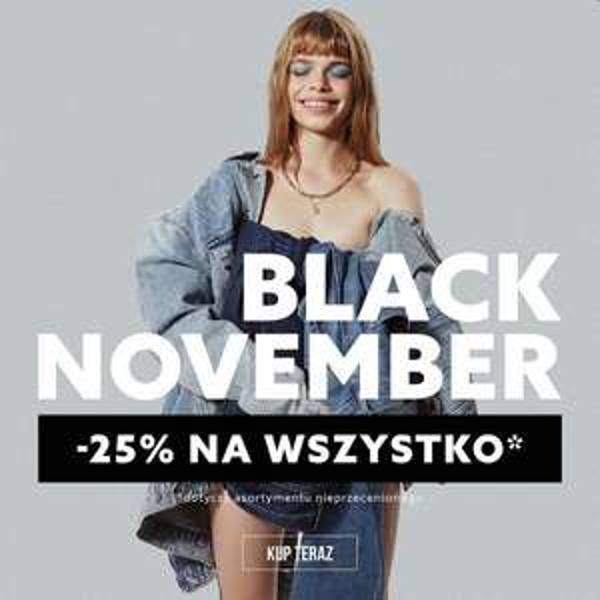 Big Star - 25% na wszystko. Black November