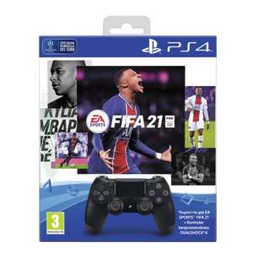 Pad Dualshock v2 + voucher FIFA 21 na PS4 @MediaExpert