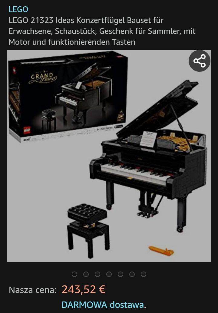 Lego Ideas 21323 Fortepian 243 Euro