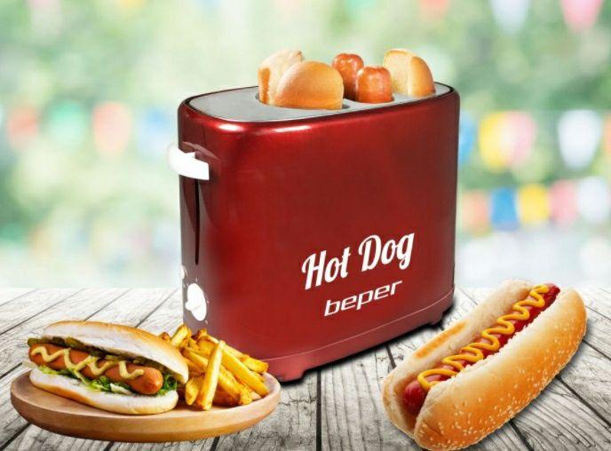 Urządzenie do hot dogów Beper (dwa otwory na kiełbaski), Auchan Białystok (Produkcyjna)