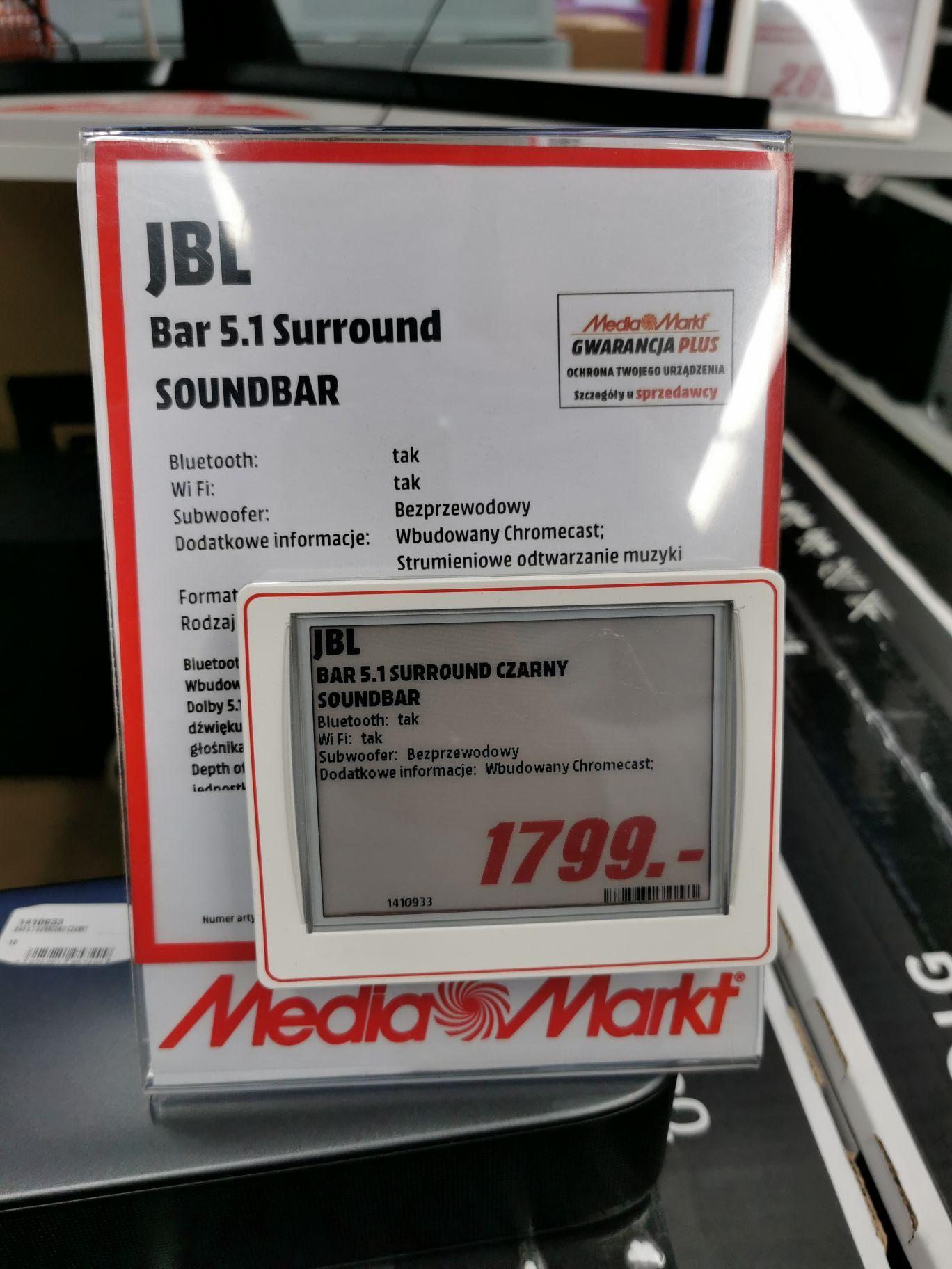 Soundbar JBL Bar 5.1 Surround MediaMarkt