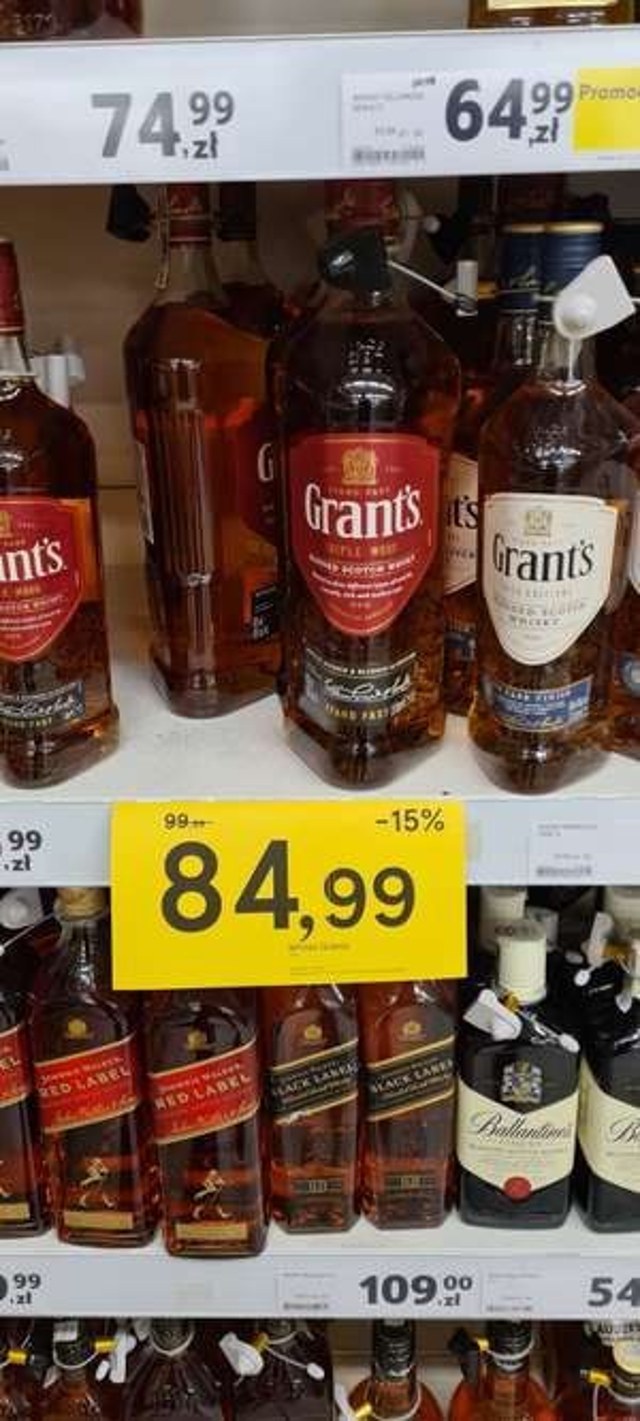 Whisky Grants 1.5l