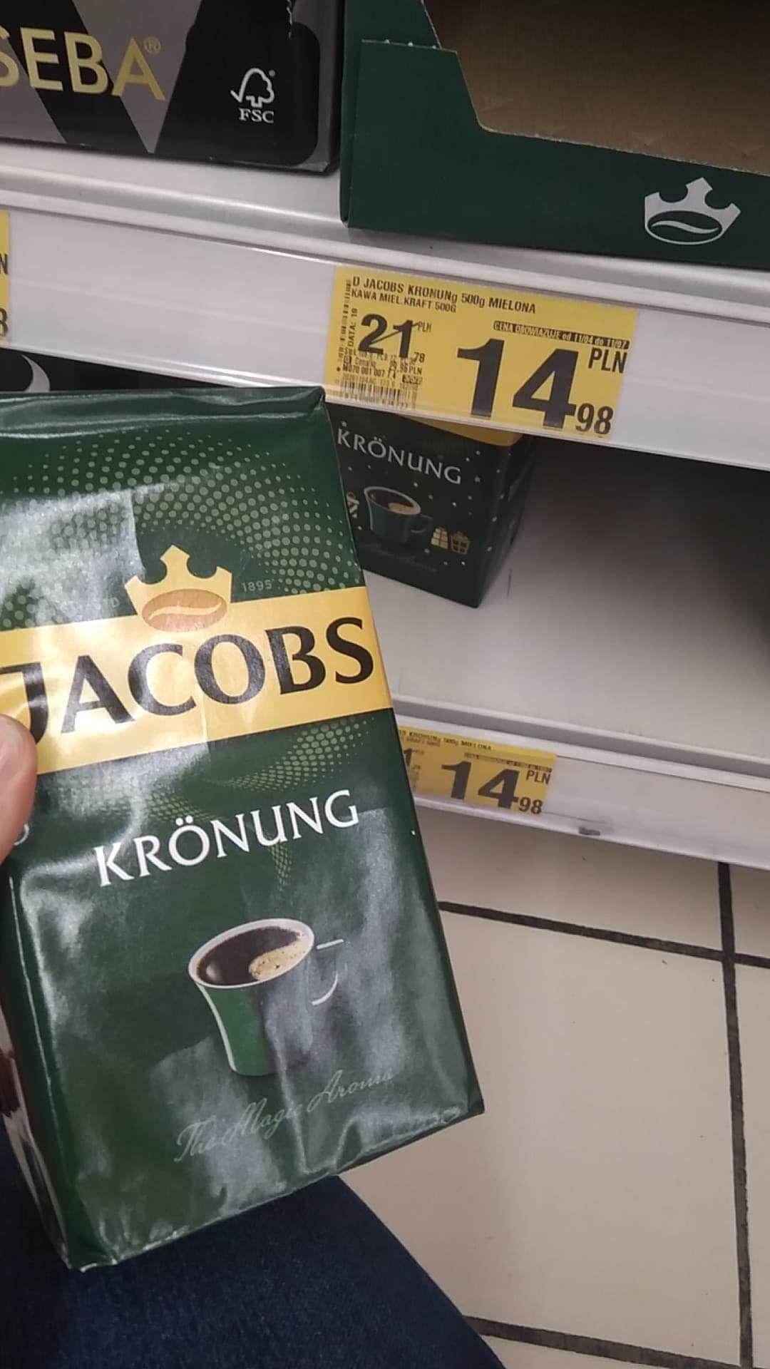 Auchan Bonarka Kawa Jacobs Kronung