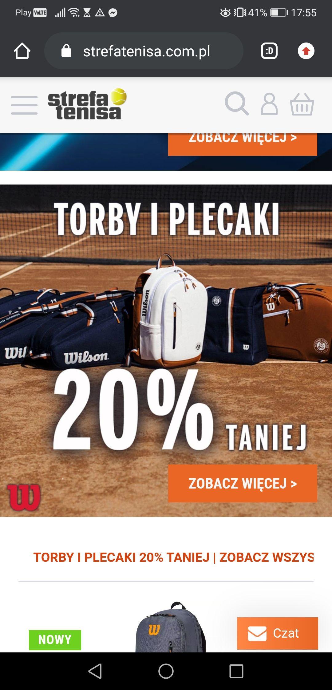 Torby i plecaki Wilson - 20%