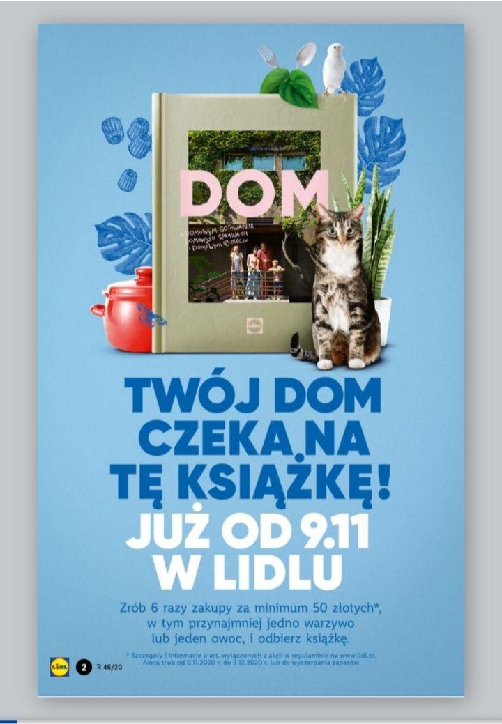 Książka DOM w Lidlu gratis po wydaniu 300 zł
