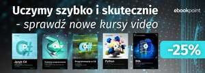 Video kursy 25% taniej @ ebookpoint