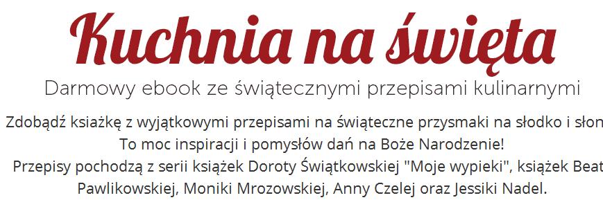 Darmowy e-book z przepisami świątecznymi @ Ravelo