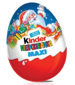 Jajko Kinder Niespodzianka Maxi