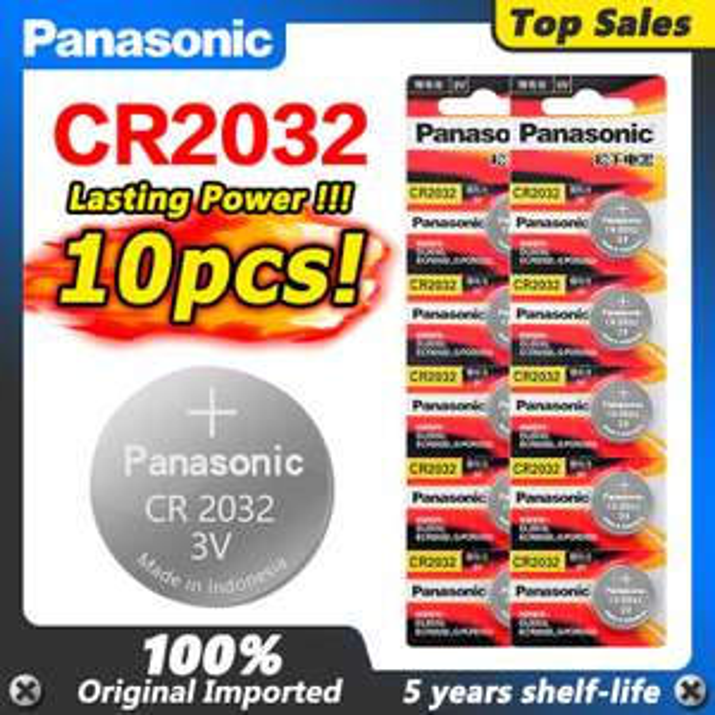 10 baterii CR2032 Panasonic $1,50 11.11