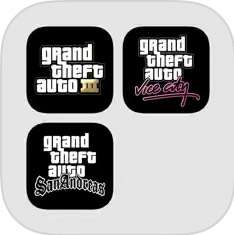 Grand Theft Auto: The Trilogy @iOS