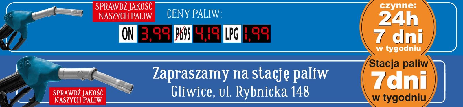 Gliwice E.Leclerc paliwo ON 3,99 / Pb95 4,19 / LPG 1,99