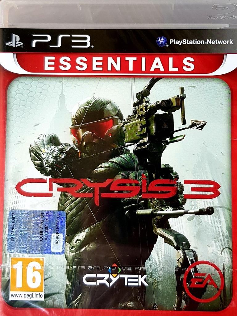 PS3 CRYSIS 3 NOWA FOLIA