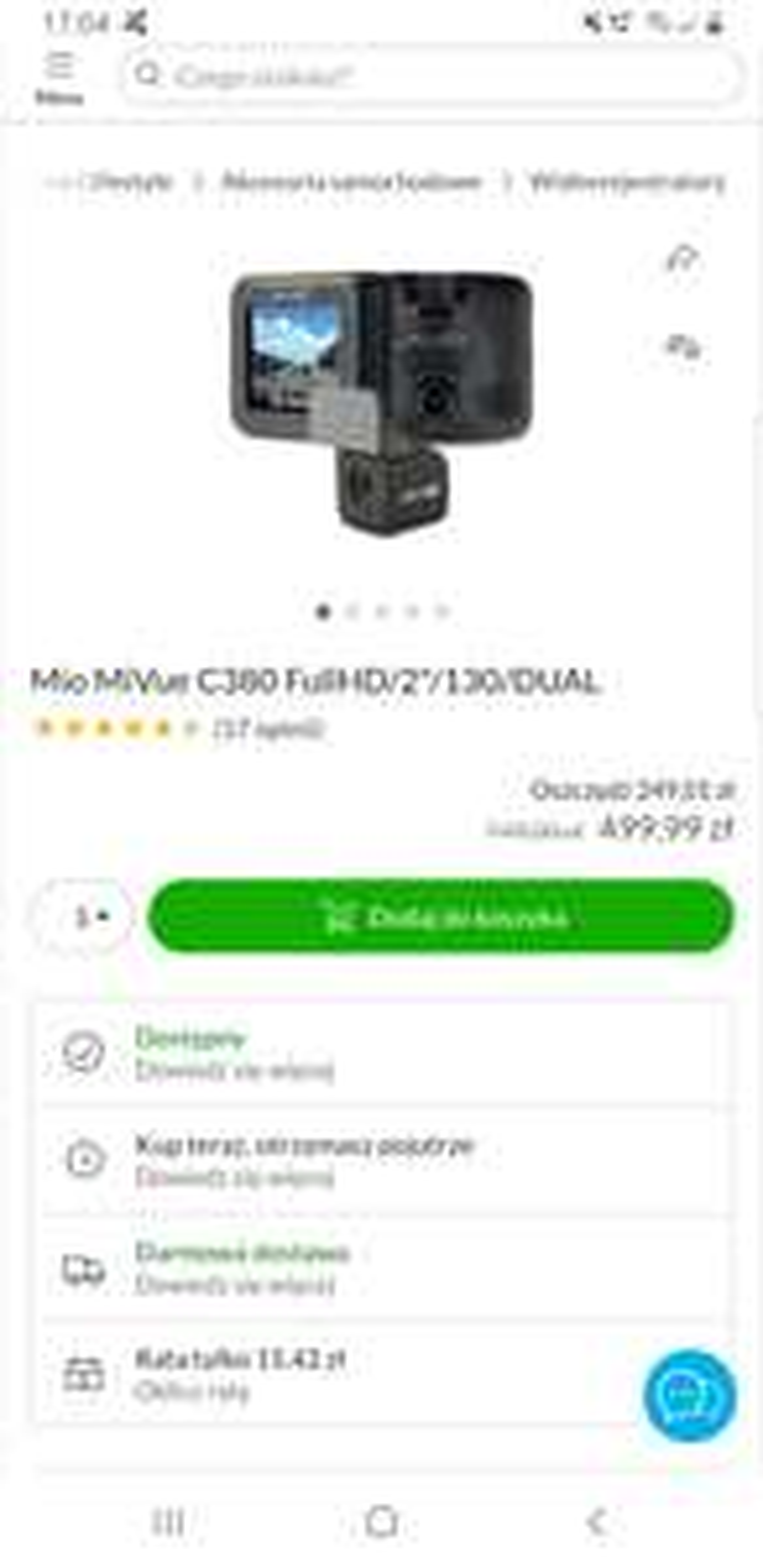 "Mio MiVue C380 FullHD/2""/130/DUAL - x-kom"