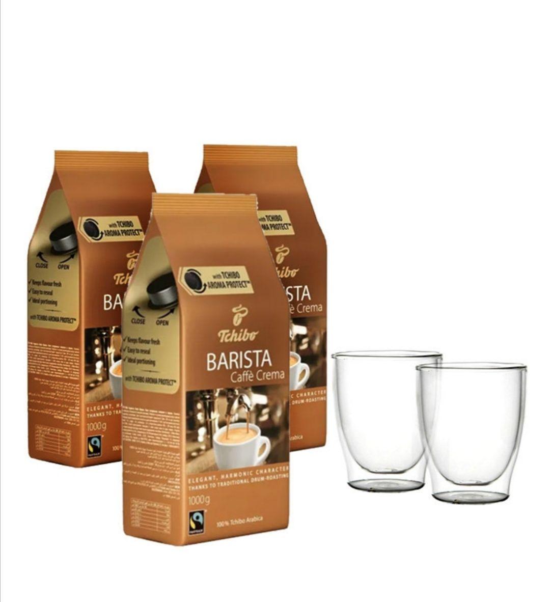 Kawa Tchibo Barista 3kg+ 2 szklanki gratis