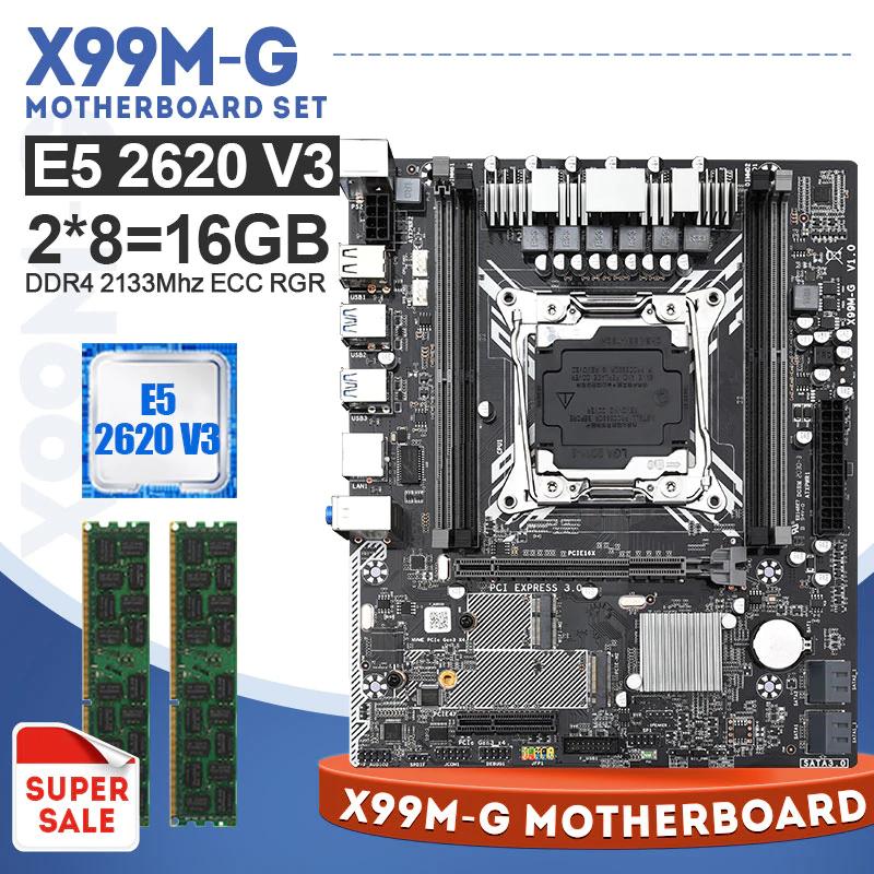 Zbiorczo 6core sety np: intel xeon v3 +16GB +płyta z mvme, usb3.0 sata3.0 ddr4 113$