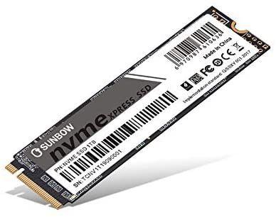 Dysk SSD TCSUNBOW NVME 1TB £76.47