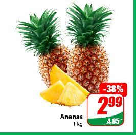 Ananas kg @Dino