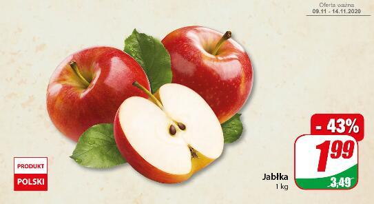 Jabłka kg @Dino