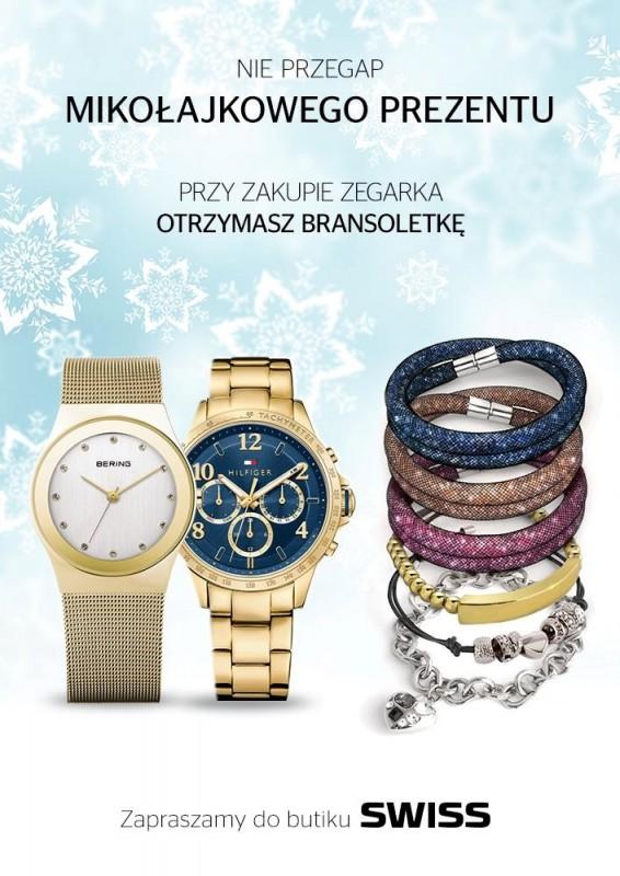 Przy zakupie zegarka, bransoletka GRATIS @ Swiss