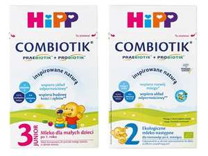 HIPP Bio Combiotik 2 lub 3, mleko modyfikowane 600/550 g @ Biedronka