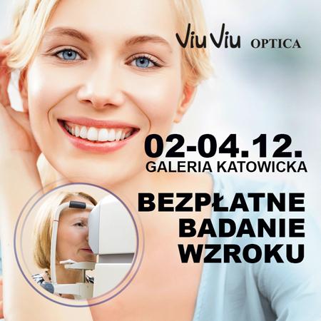 Bezpłatne badanie wzroku (Katowice) @ Soczewki24.pl/Viu Viu Optica