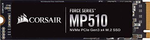 Dysk SSD Corsair Force Series MP510 M.2 PCIe 480GB (71,36 euro) oraz wersja 960gb za około 596zł