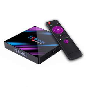 Box TV H96 Max 34.99usd + 2.67usd