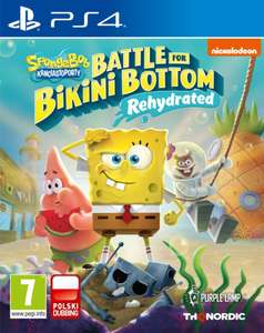 Spongebob SquarePants: Battle for Bikini Bottom Rehydrated PS4 i Xbox One