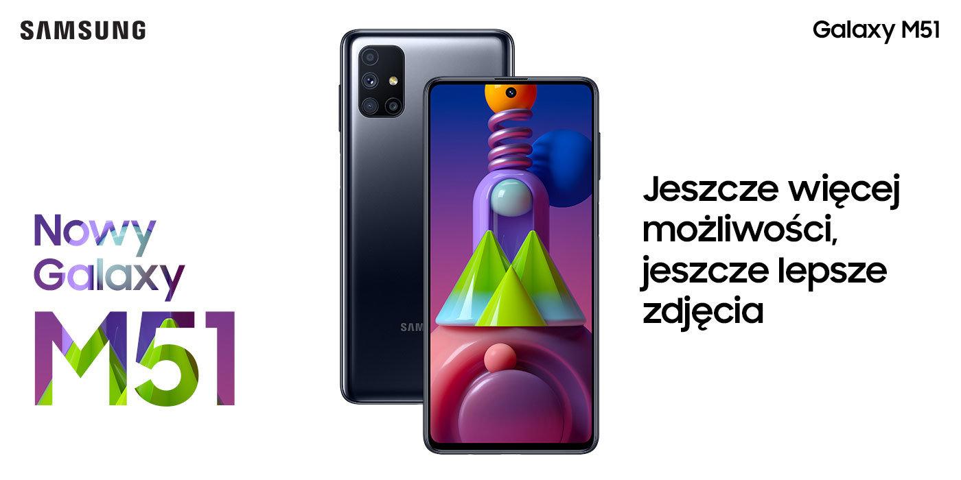Smartfon SAMSUNG Galaxy M51
