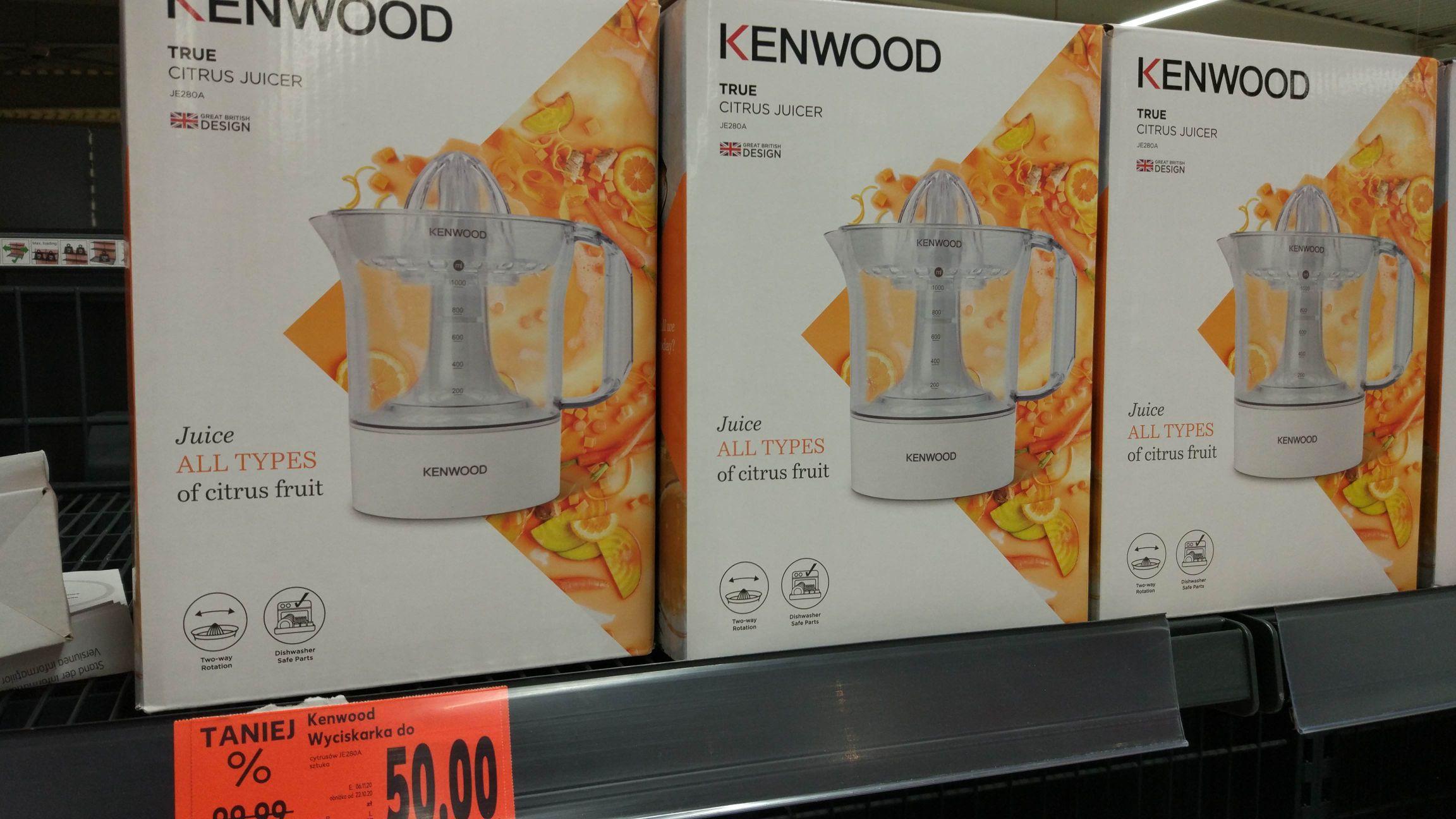 Wyciskarka do cytrusów Kenwood Kaufland