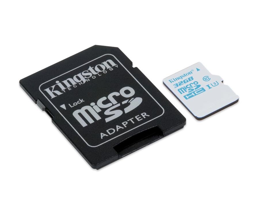 Kingston 32GB microSD U3 zapis 45MB/s @X-KOM