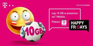 T-MOBILE Happy Friday 10 GB