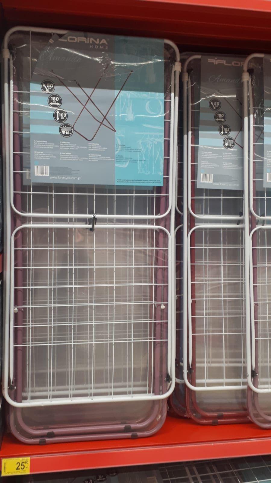 Suszarka balkonowa za 25 zł, Skarpety Męskie Pierre Cardin za 15zł i inne produkty @ Carrefour (strefa outlet)