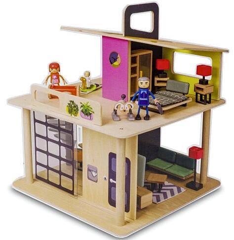 drewniany domek dla lalek PLAYLAND