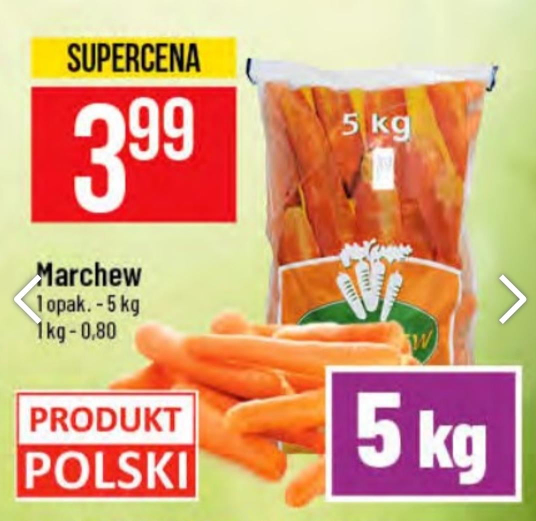 Marchew 5 kg / 3.99zł POLOMARKET 12.11-17.11