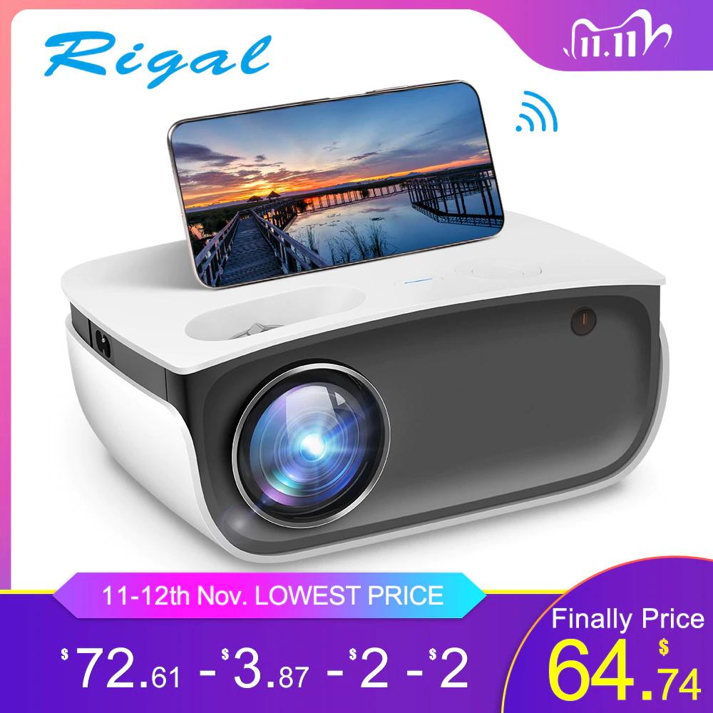 Rigal RD850 Mini projektor 11.11 72,61$/79,99$