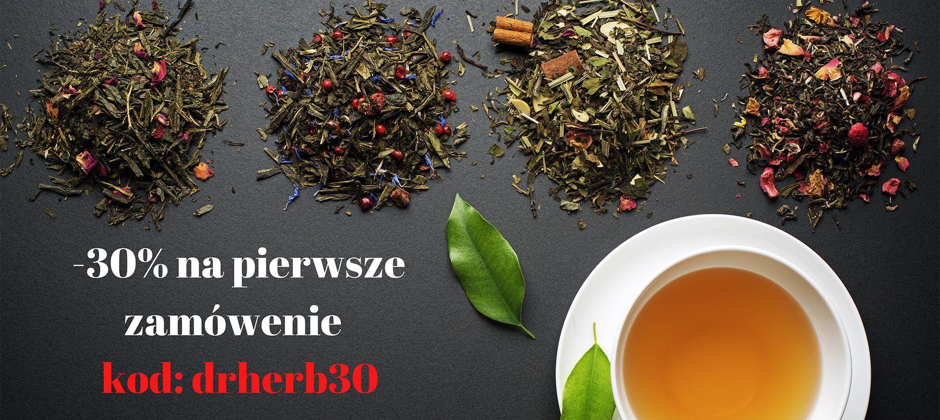 -30% na pierwsze zamówienie Kawy i Herbaty Drherb
