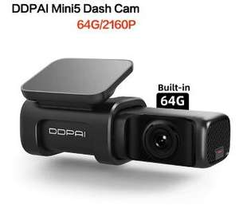 Kamerka samochodowa DDPAI Mini 5 UHD 4K 2160P z Polski