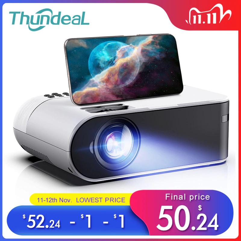 ThundeaL- miniprojektor TD60, 3D $57.47