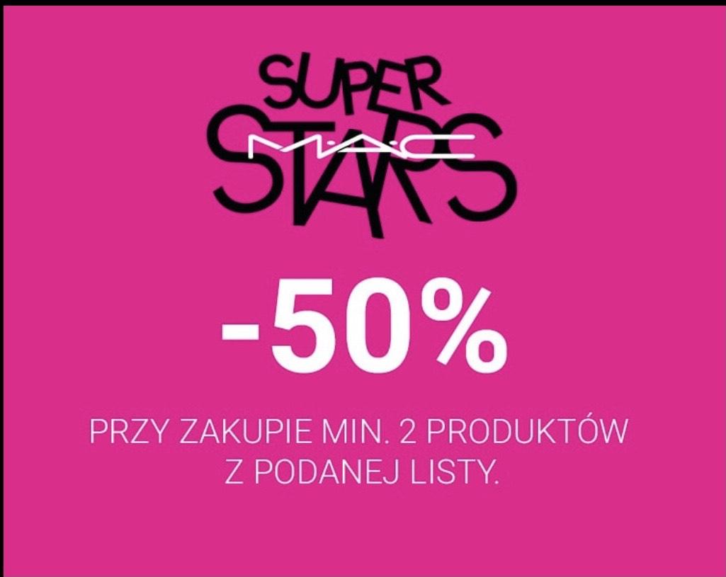 SINGLESDAY w Mac Cosmetics -50% przy zakupie min. 2 produktów