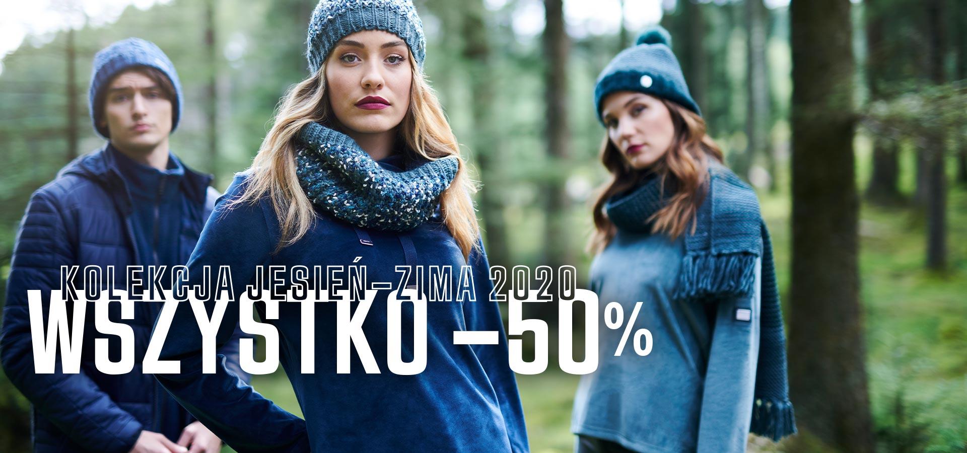 Promocja -50%na asortyment jesień-zima 2020