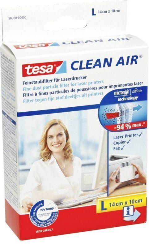 Filtr antypyłkowy do drukarki Tesa Filtr Clean Air rozmiary L, S i M