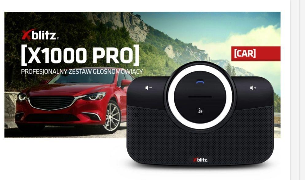 Zestaw głośnomówiący Xblitz X1000 PRO.