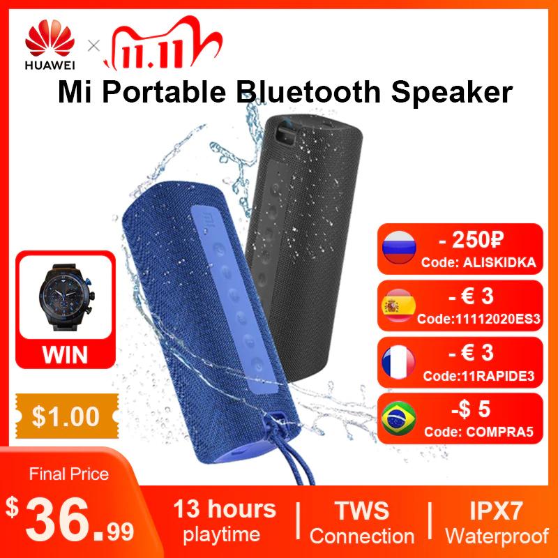 Przenośny głośnik Xiaomi Mi Portable Bluetooth Speaker - wodoodporny 16W BT5.0