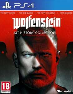 Wolfenstein Alt History Collection PS4 - RTV Euro AGD